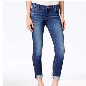 Kut from the Kloth cropped Catherine jeans
